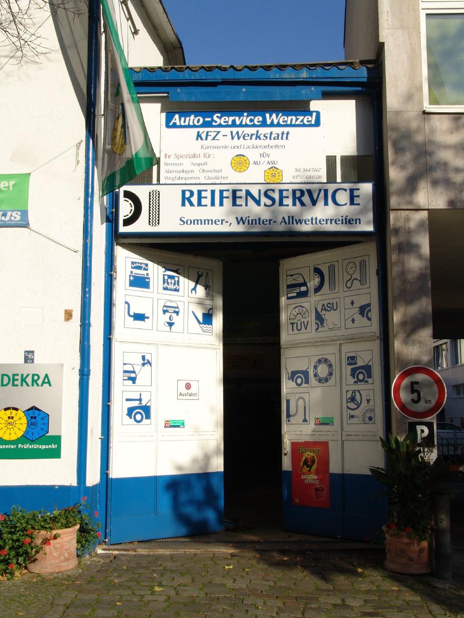 Wartung Auto Service Wenzel